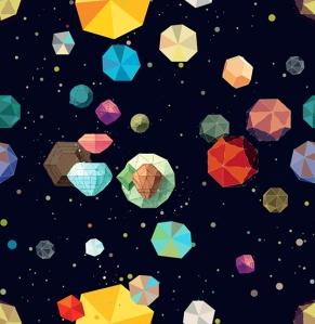 """Asteriods"" - Sanja Kusturica http://thepatternlibrary.com/#asteroids"