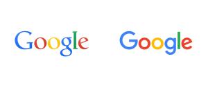 Google's new logo as of 2015