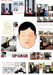 Artist Chris Ware, no page number.