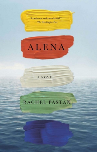 "Book jacket design employing digital collage technique: ""Alena: A Novel"" by Rachel Pastan, designed by Abby Weintraub. (www.bookcoverarchive.com)"
