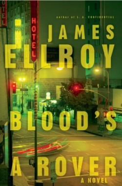 "Book jacket design employing digital collage and transparency technique: ""Blood's a Rover"" by James Ellroy, designed by Chip Kidd. (www.bookcoverarchive.com)"