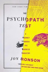 "Book jacket design employing digital collage technique: ""Psychopath Test"" by Jon Ronson, designed by Matt Dorfman. (www.bookcoverarchive.com)"