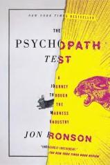 "Book jacket design employing digital collage technique: ""Psychopath Test"" by Jon Ronson, designed by Matt Dorfman. (www.bookcoverarchive.com)"