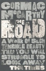 "Don't forget that your title can play a visual role in your jacket design: ""The Road"" by Cormac McCarthy, designed by David Pearson. (www.bookcoverarchive.com)"